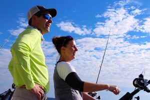 Duluth Fishing Optimum Charters on Lake Superior