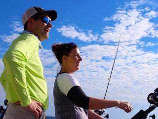 Duluth Fishing Optimum Charters on Lake Superior