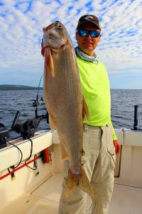 Lake Trout Optimum Charters on Lake Superior