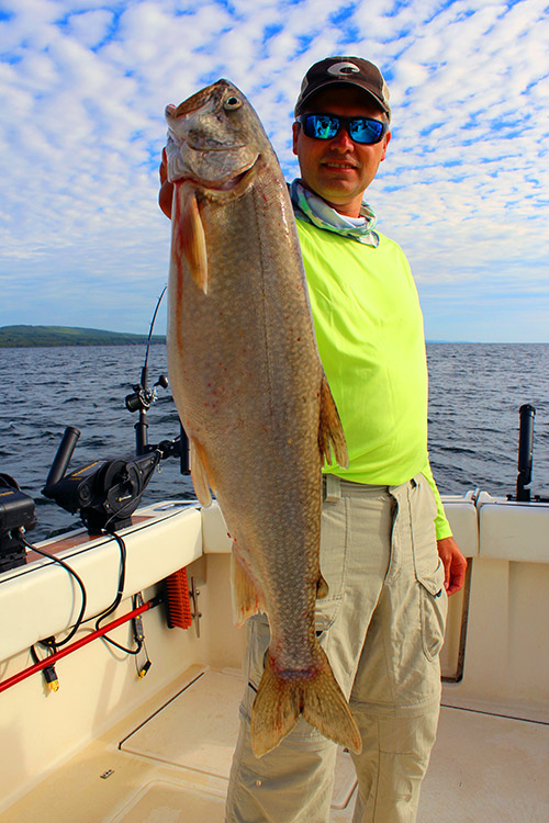 Home optimum charters for Lake superior fishing