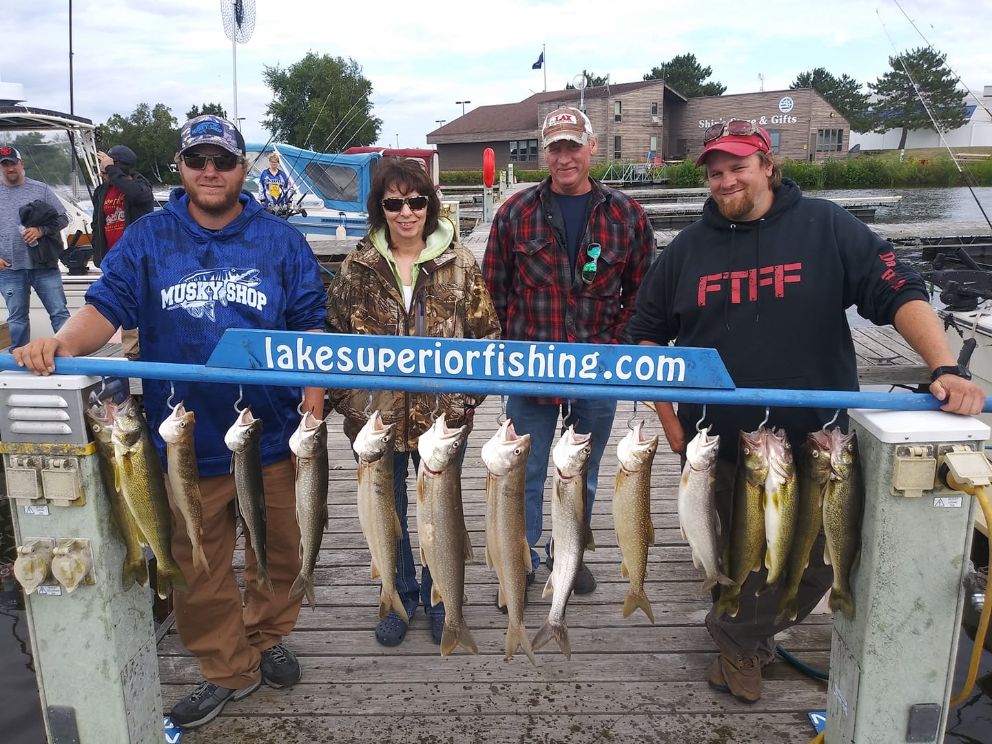 Walleye and Lake Trout